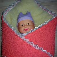 Конверт для новорожденного теплый (мех)