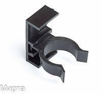 Ножка регулируемая 10 см клипса черная