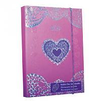 Папка для тетрадей картонная Heart ZB.14954 Zibi