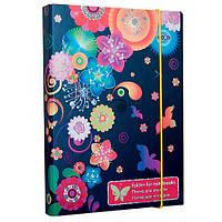 Папка для тетрадей картонная Flowers ZB.14953 Zibi