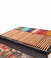 """Карандаши цветные акварельные """"MARCO"""" Renoir в металлическом пенале (36 цветов)  FineART-36TN"""