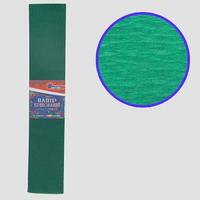 Гофро-папір JO Темно-зелений 55%, 20г/м2 50*200см, KR55-8040