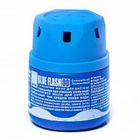 Гигиеническое мыло для унитаза в бачок Sano Blue Flash 200 мл., Израиль