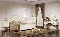 Кровать Эпока белая 1,2