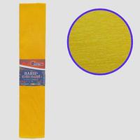 Гофро-папір JO Темно-жовтий 55%, 20г/м2 50*200см, KR55-8046