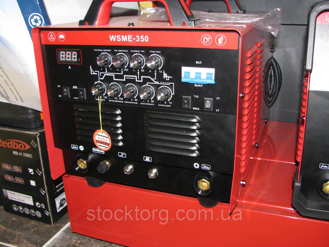 Сварочный инвертор Redbo Intec WSME-350 Pulse (AC/DC TIG/MMA)