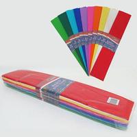 Гофро-папір JO мікс 10 кольорів 55%, 20г/м2 50*200см, KR55-Mix