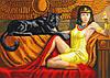 """Схема для вышивки бисером """"Принцесса Египта"""", А3"""