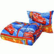 Комплект детский, одеяло детское (110х140см) с подушкой, расцветка в ассортименте