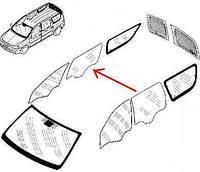 Стекло боковое заднее правое дверное Logan MCV