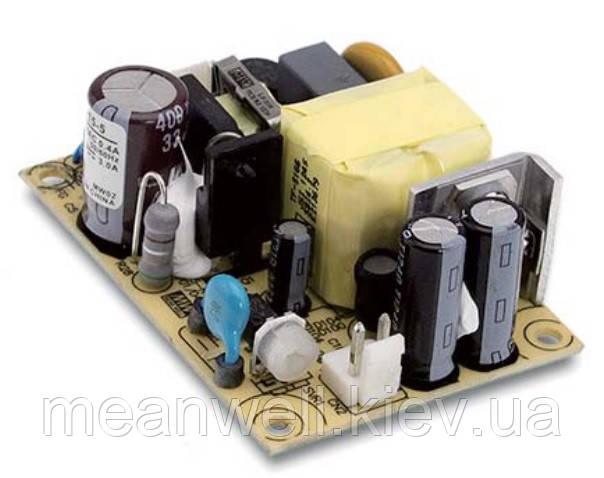 EPS-15-5 Блок питания Mean Well  Открытого типа 15 Вт, 5 В, 3 А (AC/DC Преобразователь)