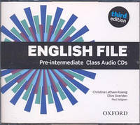 Аудио диски English File 3rd Edition Pre-Intermediate Class Audio CDs