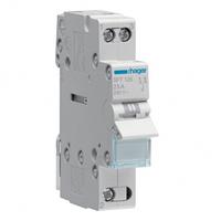 Переключатель I-0-II с общим выводом сверху 1 полюс 25А 230W SFT125 Hager