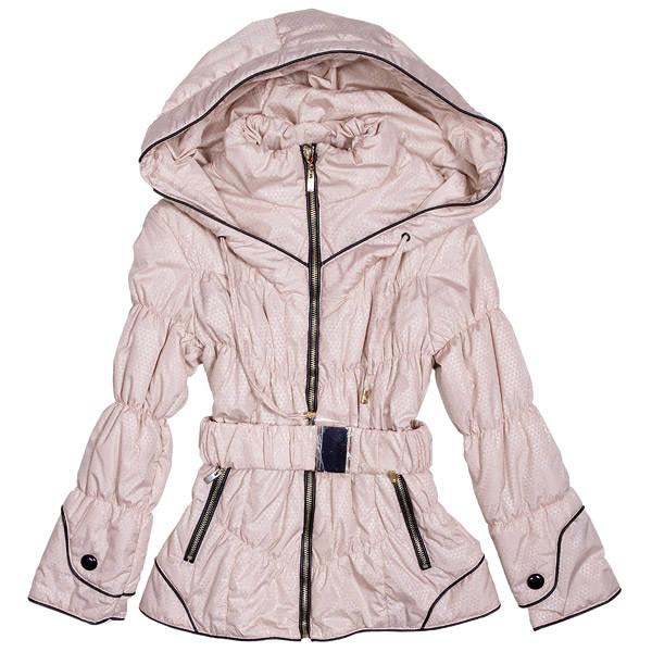 Куртка для девочек с капюшоном