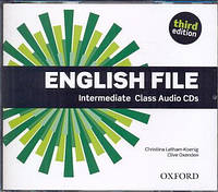 Аудио диски English File 3rd Edition Intermediate Class Audio CDs