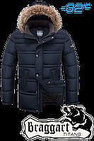 Модная куртка большого размера Braggart Titans 3865B т. синий 56(3XL), 58(4XL), 60(5XL), фото 1
