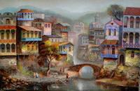 """Открытка с городом """"Старый Тбилиси"""", фото 1"""
