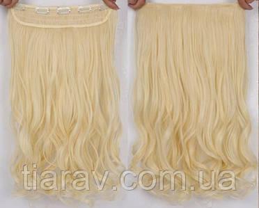 Волосы на заколках Накладная прядь, светлый блондин натуральный, тресс