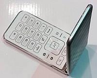 Мобильный телефон-раскладушка SAMSUNG G-150 Darago (русс.клавиатура, руссифицирован) серебристый