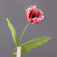 """Искусственный цветок 76 см. """"Тюльпан"""" розовый"""