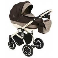 Детская универсальная коляска 2 в 1 Adamex Avila Eko Len 600K