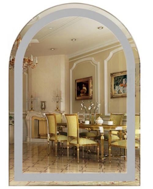 Шикарное зеркало в салон красоты (размер 70х50 см)