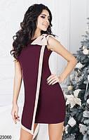 Женское платье с бантом КТ-811