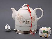 Электрический чайник с керамическим корпусом 1,2 л.