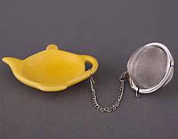 Фильтр для чая с подставкой (белая)