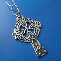 Серебряный кельтский крестик