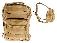 Сумка рюкзак 2in1 Mil-TEC Штурмовая Coyote Brown, фото 1