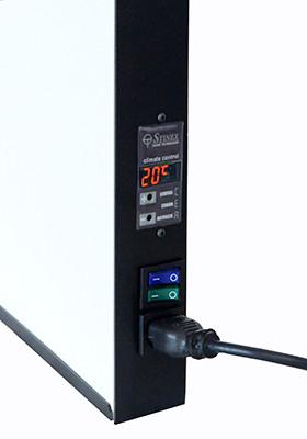 кнопка включения и выключения тэна и теплоаккумуляционной плиты