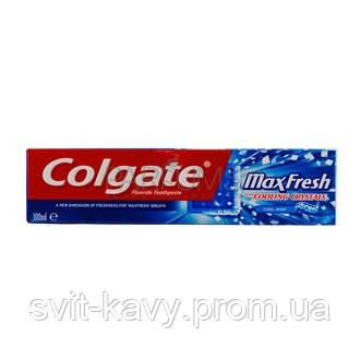 """Зубная паста """"Cool Mint"""" Colgate Max Fresh 100 ml, фото 2"""