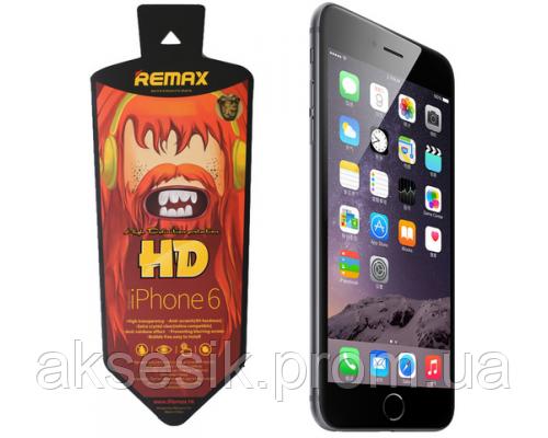 Пленка Remax iPhone 6 глянцевая