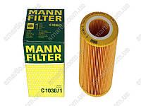 Фильтр воздуха новый Smart ForTwo 450 0.6/0.7L MANN-FILTER C 1036/1