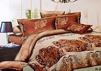 Cемейный комплект постельного белья Хищник