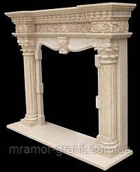 Камин в римском стиле