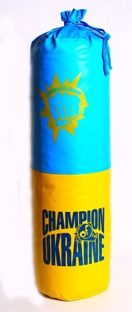 Боксерская груша Champion of Ukraine маленькая Danko toys