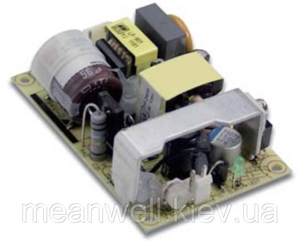 EPS-35-15 Блок питания Mean Well  Открытого типа 35 Вт, 15 В, 2.4 А (AC/DC Преобразователь)