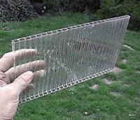 Поликарбонат 8 мм., прозрачный.
