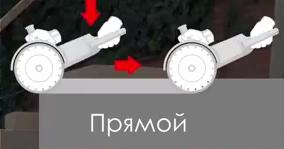 Прямой способ резки алмазным диском угловой шлифмашиной.