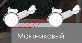 Маятниковый способ резки аламзным диском