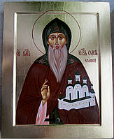 Икона писаная Святого благ. князя Олега Брянского