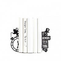 Держатели для книг Безумное чаепитие