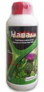 Гербицид сплошного действия Напалм/ Раундап (1 л) — для борьбы с сорняками, фото 2