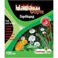 Гербицид сплошного действия Напалм Форте (100мл) - для борьбы с сорняками