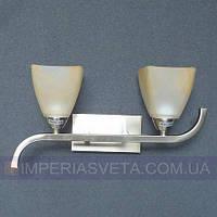 Декоративное бра, светильник настенный IMPERIA двухламовое LUX-464404