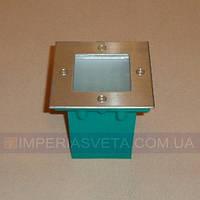 Светильник уличный вкапываемый, встраиваемый IMPERIA светодиодный LUX-351436