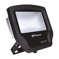 Прожектор Feron LL-420 40LEDS 20 W 6400К 230V черный IP65