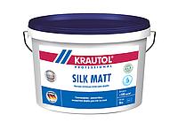 Износостойкая, матовая, латексная, водно-дисперсионная краска Krautol Silk Matt (Краутол Силк Мат)